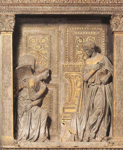 Cavalcanti Annunciation, Santa Croce, Florence