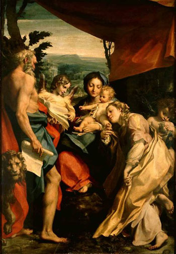Madonna and Child with SS Mary Magdalen and Jerome