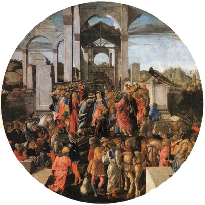 Adoration of the Magi, London