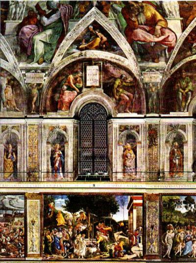 The Vatican frescoes