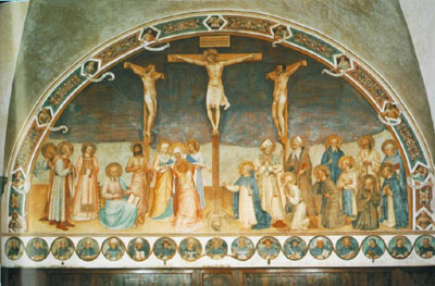 Crucifixion and Saints, San Marco, Florence
