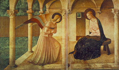 The Annunciation, corridor, San Marco