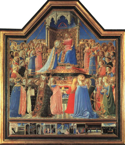 Coronation of the Virgin, now in the Louvre