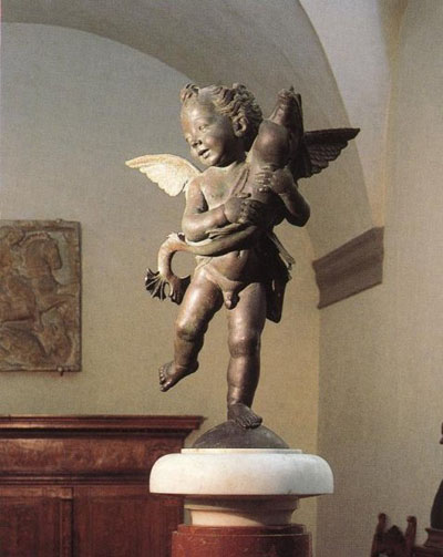 Putto with a dolphin