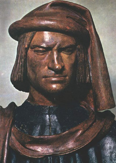 Bust of Lorenzo de' Medici