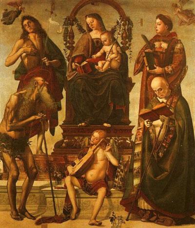 Sant'Onofrio Altarpiece, Perugia