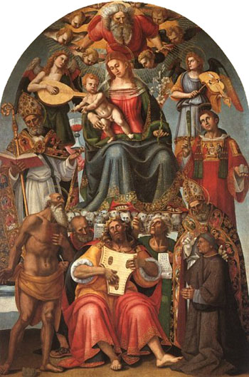 Virgin and Child and Saints, Arezzo