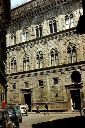 Palazzo Rucellai, Florence