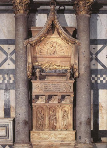 Tomb of Pope John XXIII, Baptistery