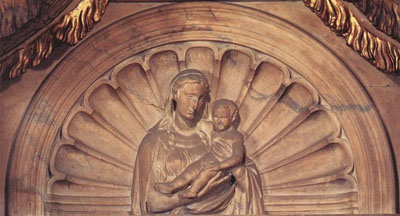 Virgin and Child, Tomb of Pope John XXIII