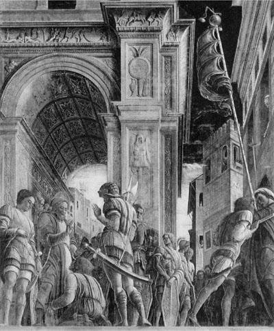 St James led to execution, Eremitani, Padua