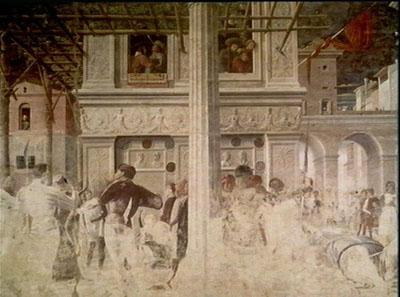 The Martyrdom of St Christopher, Eremitani, Padua
