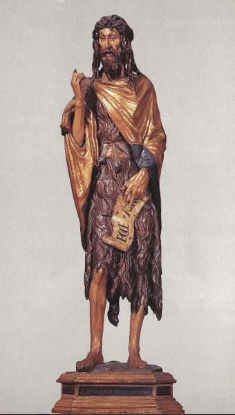 St John the Baptist, Santa Maria Gloriosa dei Frari, Venice