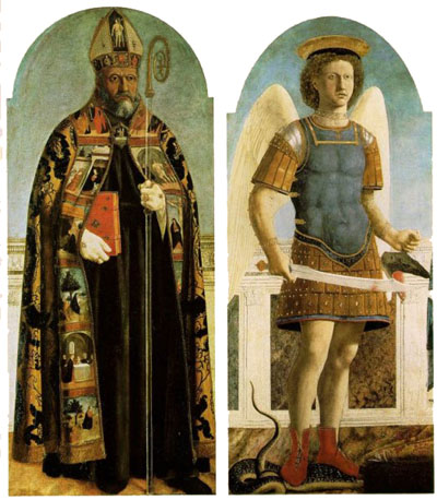 St Augustine and St Michael