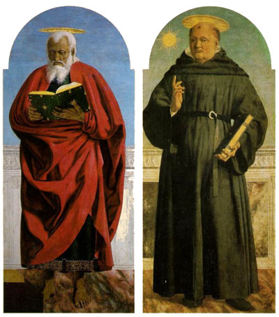 St John the Evangelist and St Nicholas of Tolentino