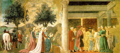 The Adoration of the Holy Wood and The Meeting of Solomon and the Queen of Sheba