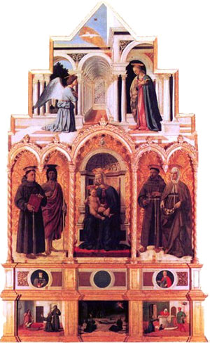 Madonna and Child with Saints, Perugia