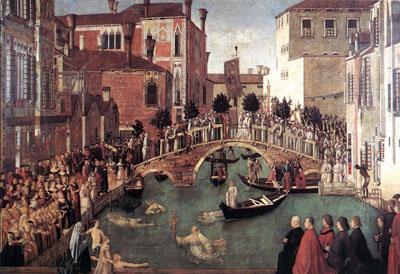 The Procession in Piazza San Marco, Galleria dell'Accademia, Venice