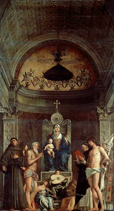 San Giobbe altarpiece, Galleria dell'Accademia, Venice