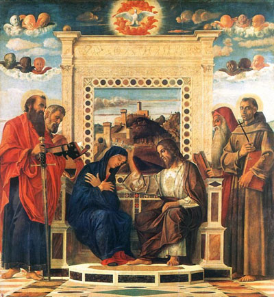 Pesaro altarpiece, Musei Civici, Pesaro