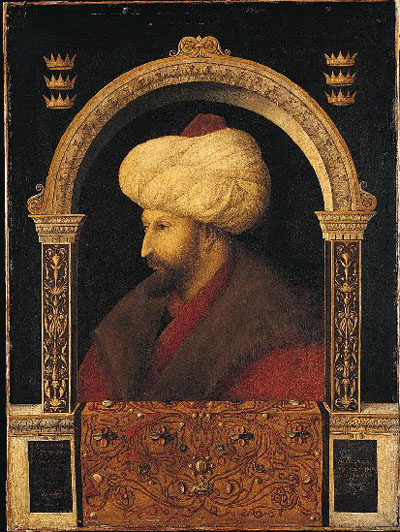 Portrait of Sultan Mehmet II, National Gallery, London