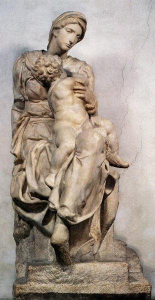 Medici Madonna, New Sacristy