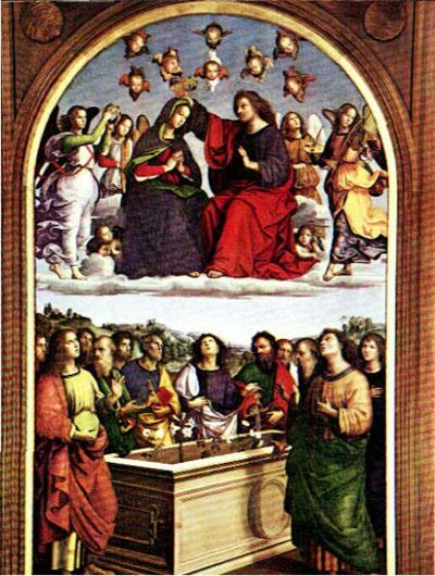 Assumption and Coronation of the Virgin (Oddi altarpiece)
