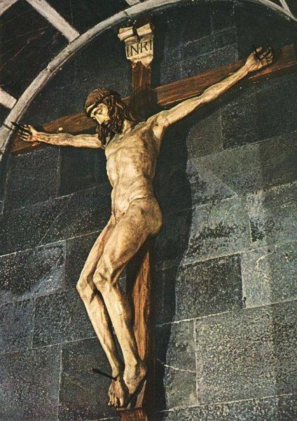 Brunelleschi's crucifix, Santa Maria Novella, Florence