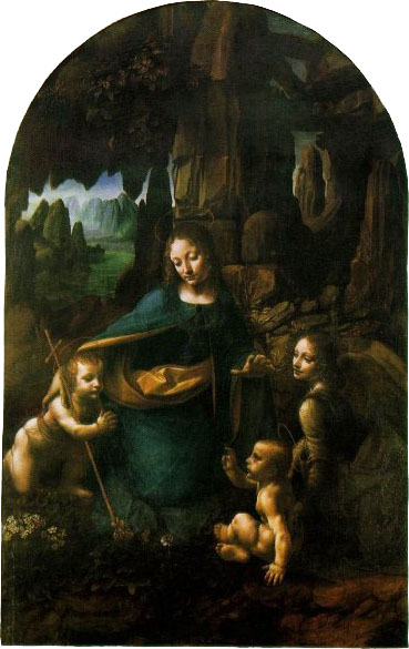 Madonna of the Rocks, National Gallery, London