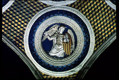 Vault of the chapel of San Jacopo, San Miniato al Monte