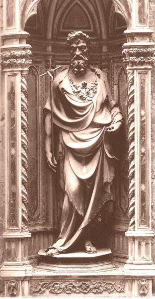 St John, Orsanmichele, Florence