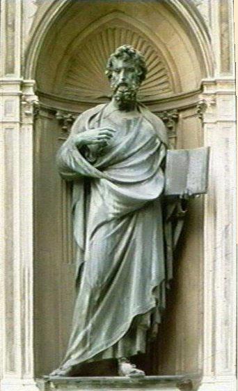 St Matthew, Orsanmichele, Florence