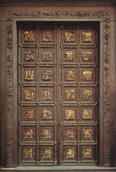 The North Doors, Baptistery, Florence