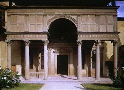 Pazzi Chapel, Santa Croce, Florence