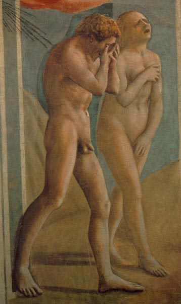 Expulsion from the Garden of Eden, Brancacci Chapel, Florence