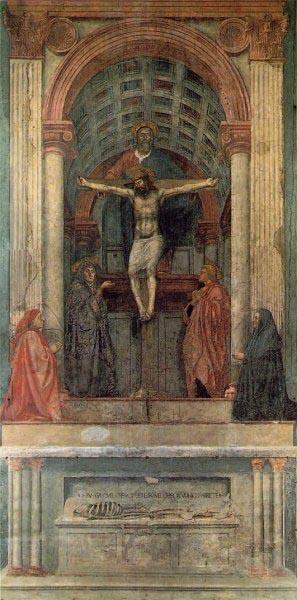 The Trinity, Santa Maria Novella