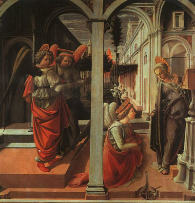 Annunciation, San Lorenzo